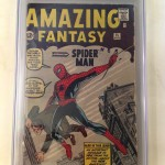 Amazing Fantasy Comic Book #15 CGC 4.0