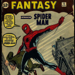 Amazing Fantasy Comic Book #15 Front Cover