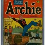 Archie Comics #1 CGC 2.5
