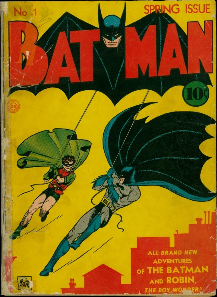 Comic Book Cover Pictures : Batman comic book values prices issues  comics