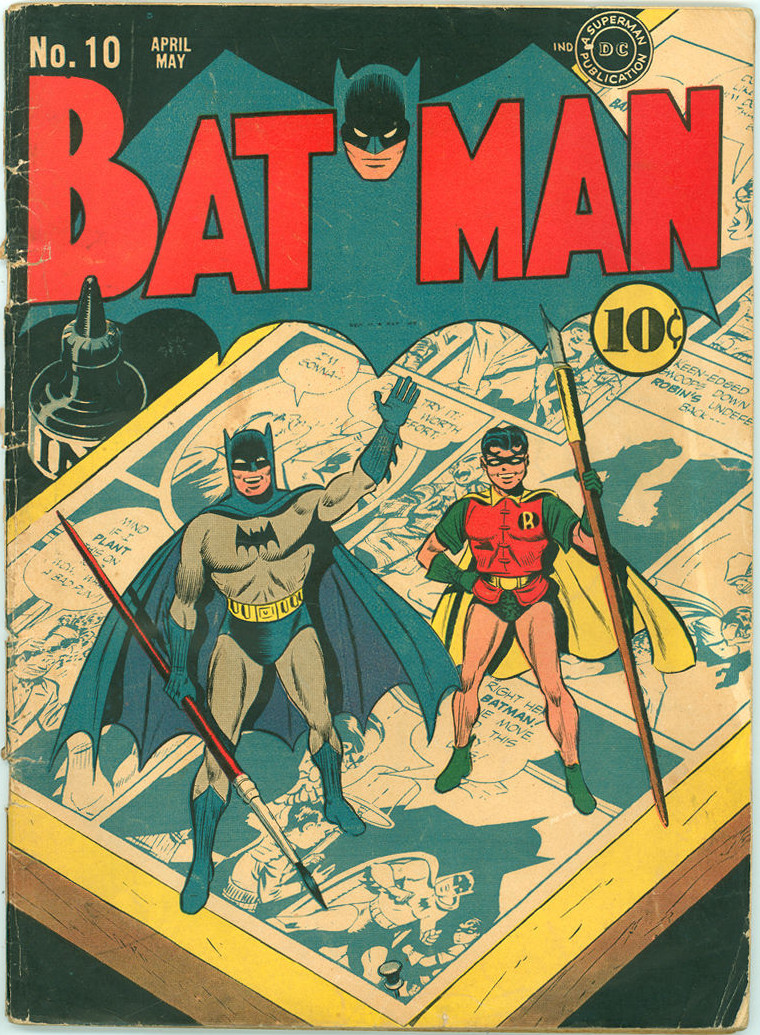Batman Comic Book #10 Front Cover – Comics Watcher