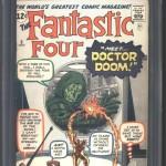 Fantastic Four #5 CGC 8.0