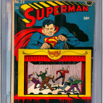 Superman #22 Comic Book Graded CGC 4.0