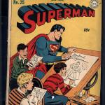 Superman #25 CGC 2.5
