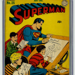 Superman #25 CGC 9 Front Cover