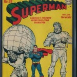 Superman #28 CGC 7 Front Cover