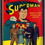 Superman #29 CGC 9