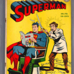 Superman #38 CGC 4.5 Front Cover