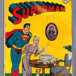 Superman #43 CGC 4.0 Front Cover