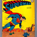 Superman #52 CGC 3.5 Comic Book
