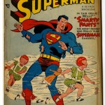 Superman #56 Comic Book Front Cover