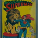 Superman Comic Book #50 CGC 4.5