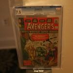 The Avengers #1 CGC 7.5