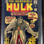 The Incredible Hulk #1 CGC 6