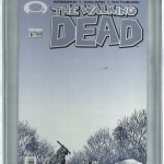 The Walking Dead #8 Front Cover CGC 9.8