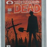 The Walking Dead CGC 9.8 Front Cover