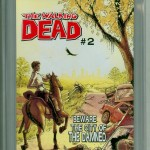 Walking Dead #1 CGC 9.8 Back Cover
