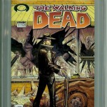 Walking Dead #1 CGC 9.8 Black Label Front Cover