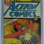 Action Comics #10 CGC 4.5 Restored
