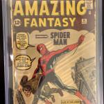 Amazing Fantasy #15 CGC 1.5