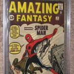 Amazing Fantasy #15 CGC 8.5 Signed By Stan Lee