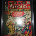 Avengers #1 Comic Book Graded CGC 7.0