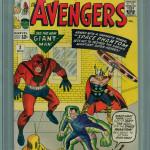 Avengers #2 Graded CGC 9.4