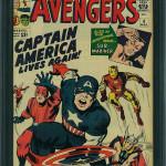 Avengers #4 CGC 9.0