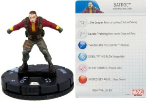 Heroclix Captain America Winter Soldier Batroc
