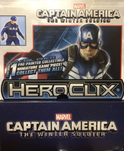 Heroclix Captain America Winter Soldier Booster Box