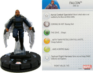 Heroclix Captain America Winter Soldier Falcon 006