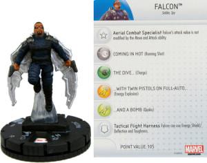 Heroclix Captain America Winter Soldier Falcon 006