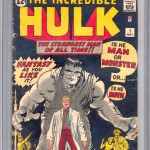The Incredible Hulk #1 CGC 3.0