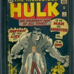 The Incredible Hulk #1 CGC 4.5