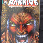 Warrior #1 Signed By Ultimate Warrior