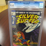 Silver Surfer Comic Book Graded CGC 9.4