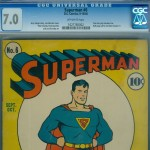 Superman #6 Graded CGC 7.0
