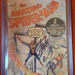 The Amazing Spider-Man #1 CGC 0.5 Signed By Stan Lee