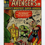 The Avengers #1 Comic Book