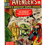 The Avengers Comic Book #1 Front Cover
