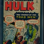 The Incredible Hulk #2 CGC 6.5