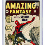 Amazing Fantasy #1 Comic Book Graded CGC 5.0