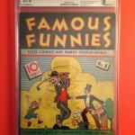 Famous Funies #1 Comic Book CGC 3.0 Restored
