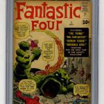 Fantastic Four #1 CGC 3.0 - $3,150