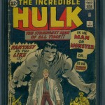Incredible Hulk #1 CGC 1.8 - $4,595