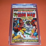 Iron Man #55 Graded CGC 9.2 - $1,224.95
