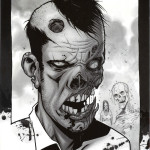 The Walking Dead #25 Comic Book Back Cover