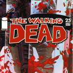The Walking Dead #25 Comic Book Front Cover