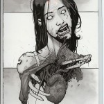 The Walking Dead #28 Comic Book Back Cover
