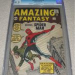 Amazing Fantasy #15 Comic Book CGC 4.0 Sold For $15,759